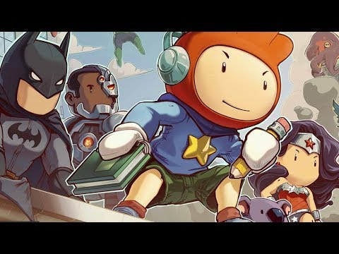 Playing some Scribblenauts Unmasked |