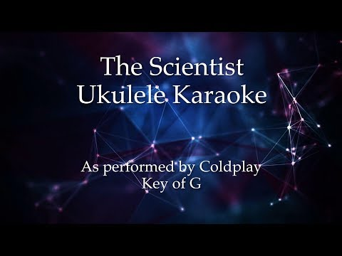 The Scientist Ukulele Karaoke