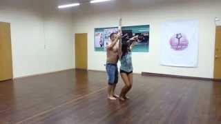 Наш второй урок танца бачата