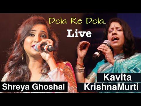 Shreya Ghoshal Vs Kavita Krishnamurti Live - Dola Re Dola | Devdas | Desi Unplugged