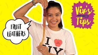 How to Make DIY Fruit Leather | VIV
