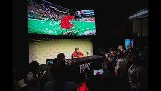 2019 Pac-12 Football Media Day: Washington State's Mike Leach comments on offensive values