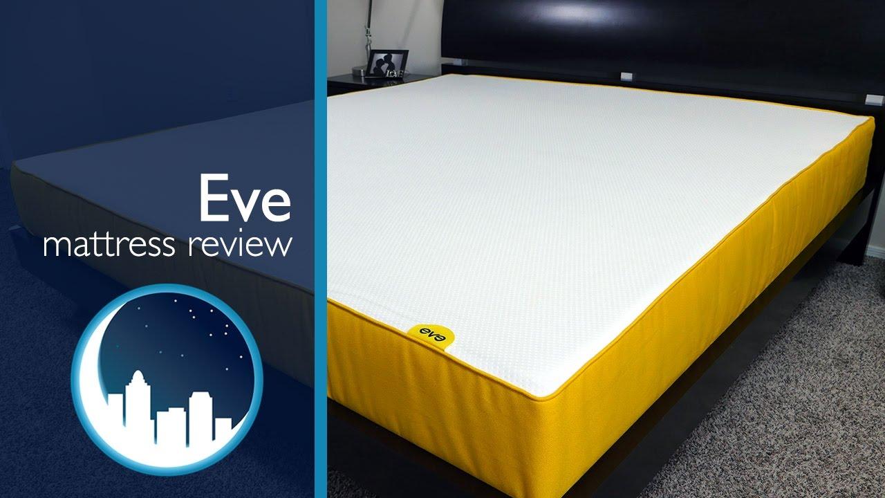 eve mattress review youtube. Black Bedroom Furniture Sets. Home Design Ideas