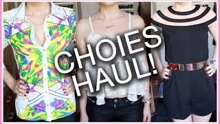 Choies Clothing Haul! Thumbnail