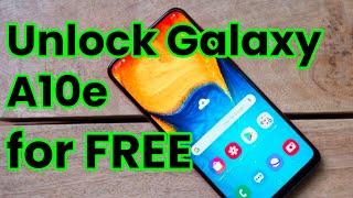 🥇 Unlock Samsung Galaxy A10e, metroPCS & T-Mobile SM-A102U