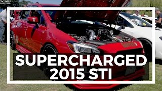 homepage tile video photo for Quick Take: SuperCharged 2015 Subaru WRX STI   FOR REAL! (PREVIEW)...