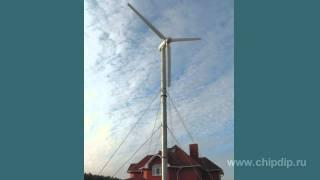 Малый ветрогенератор(Подписывайтесь на нашу группу Вконтакте — http://vk.com/chipidip, и Facebook — https://www.facebook.com/chipidip * Ветрогенератор..., 2012-02-14T23:53:03.000Z)