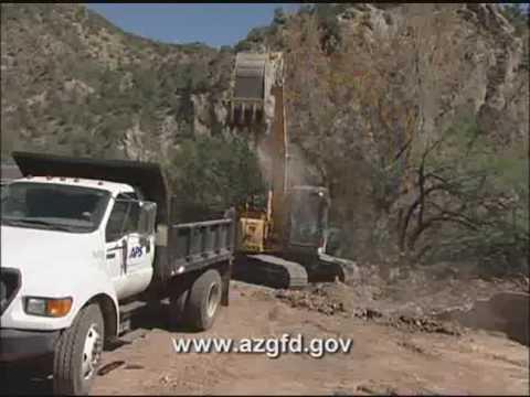 Arizona Fossil Creek Fishing