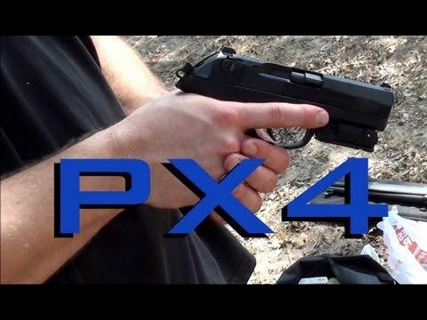Beretta PX4 Storm with Lasermax Laser