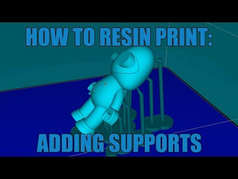 How To Resin Print: Adding Supports To Your Model