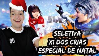🔥 FREE FIRE AO VIVO X1 DOS CRIAS SELETIVA PRA GUILDA VLS + JOGANDO COM INSCRITOS NATAL