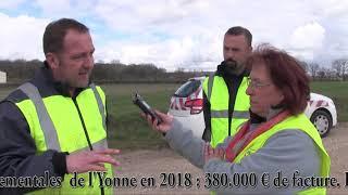 GRAND NETTOYAGE DE PRINTEMPS des Routes Départementales de l'Yonne (89).