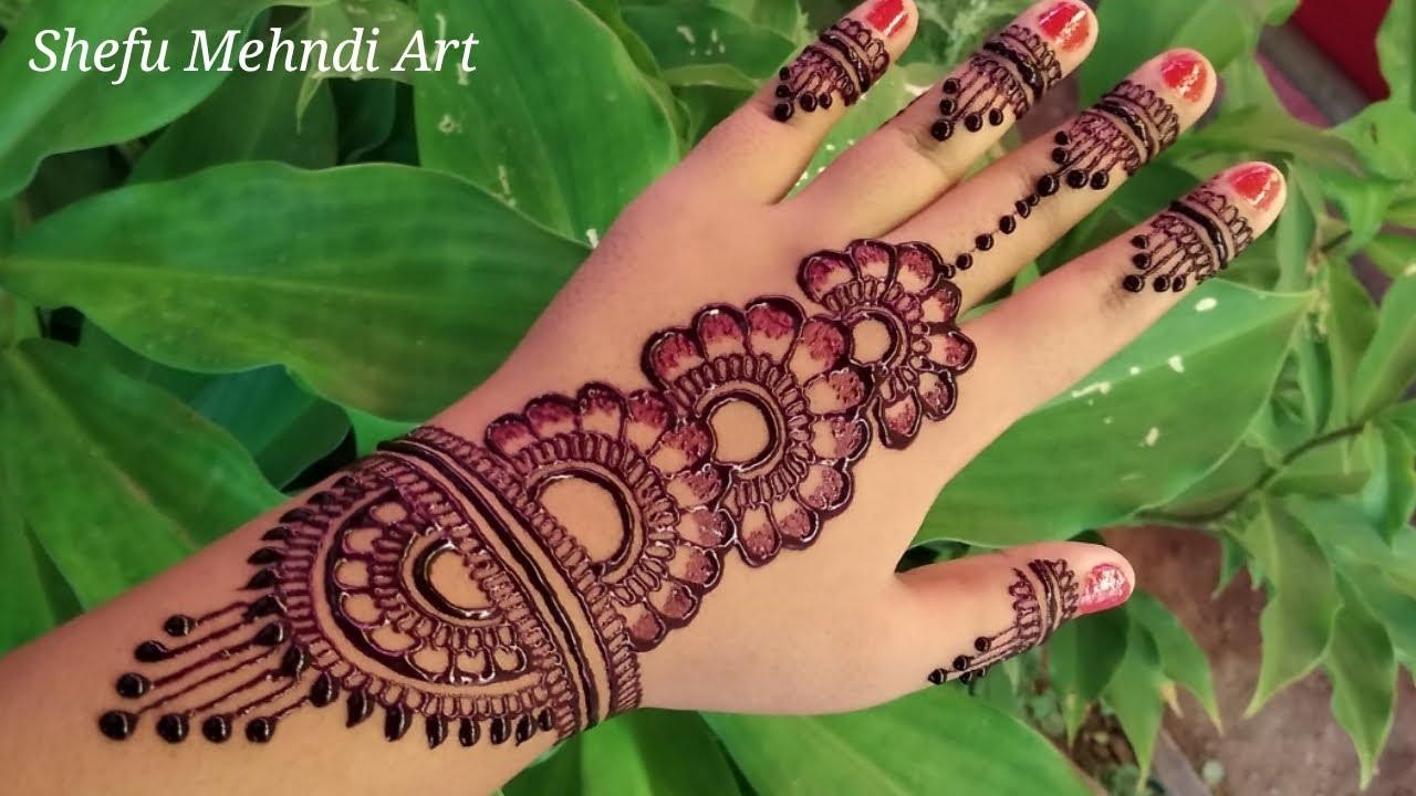 beautiful mehndi arabic mehndi designs for back side of hand