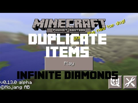 How to duplicate items in minecraft pe new no mods for Modern house minecraft pe 0 12 1