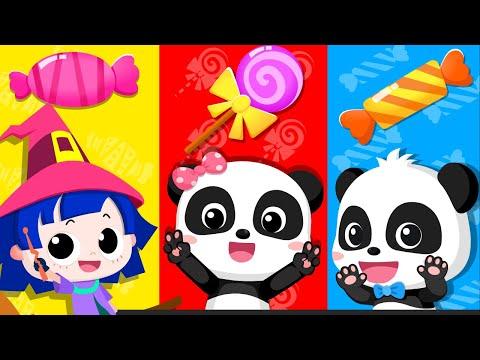 키키묘묘와 마녀 색깔송|색깔놀이|색깔왕국 여행가자~!|learn colors|생활동요|안전교육|음식동요|베이비버스 인기동요모음|BabyBus