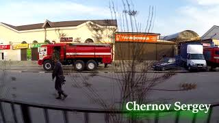 Сегодня в Нальчике случился пожар на Зеленом Базаре!
