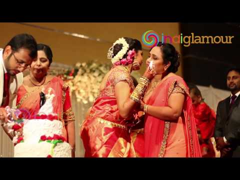 Malayalam Actress Muktha Wedding Reception