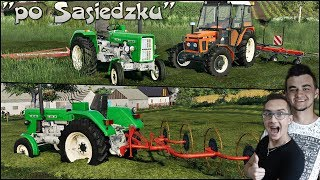 """""""Po Sąsiedzku"""" #12 FS19 ✔ Sianokosy i zakup maszyn zielonkarskich!! ☆ MafiaSolec"""