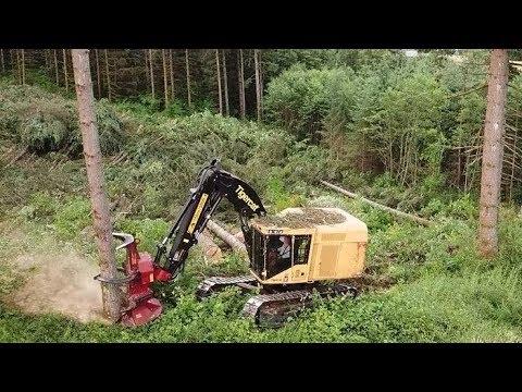Chilton Logging Tigercat