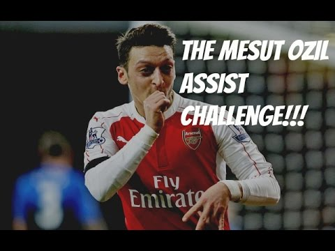 The Mesut Ozil Assist Challenge! Ft Hugh Wizzy & Smithy (Soccer AM)