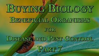 Buying Biology: Beneficial Organisms for Disease and Pest Control Part 7