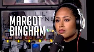 Margot Bingham Talks Doing Nude Scenes, Being on Barbershop 3 + Wiz Khalifa Being on her 1st Album