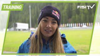 Dorothea Wierer ci spiega gli allenamenti del Biathlon