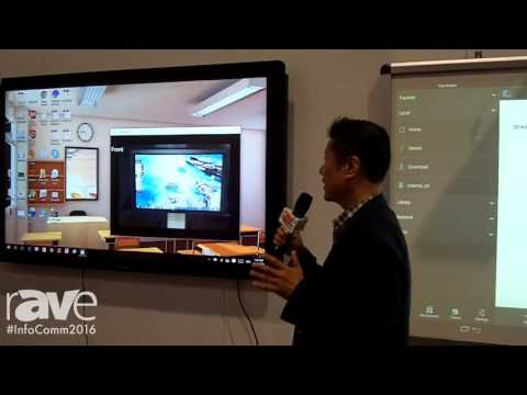 InfoComm 2016: Nuribom Showcases T3k Canvas Touch Overlay for TV