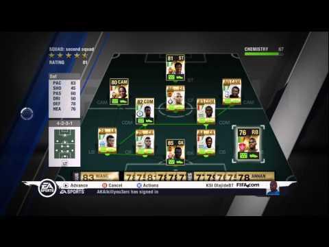 FIFA 11 | Ultimate Team | African Teams are BEAST
