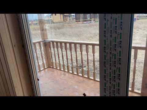 Обзор дома из бруса 8 на 9 м для круглогодичного проживания