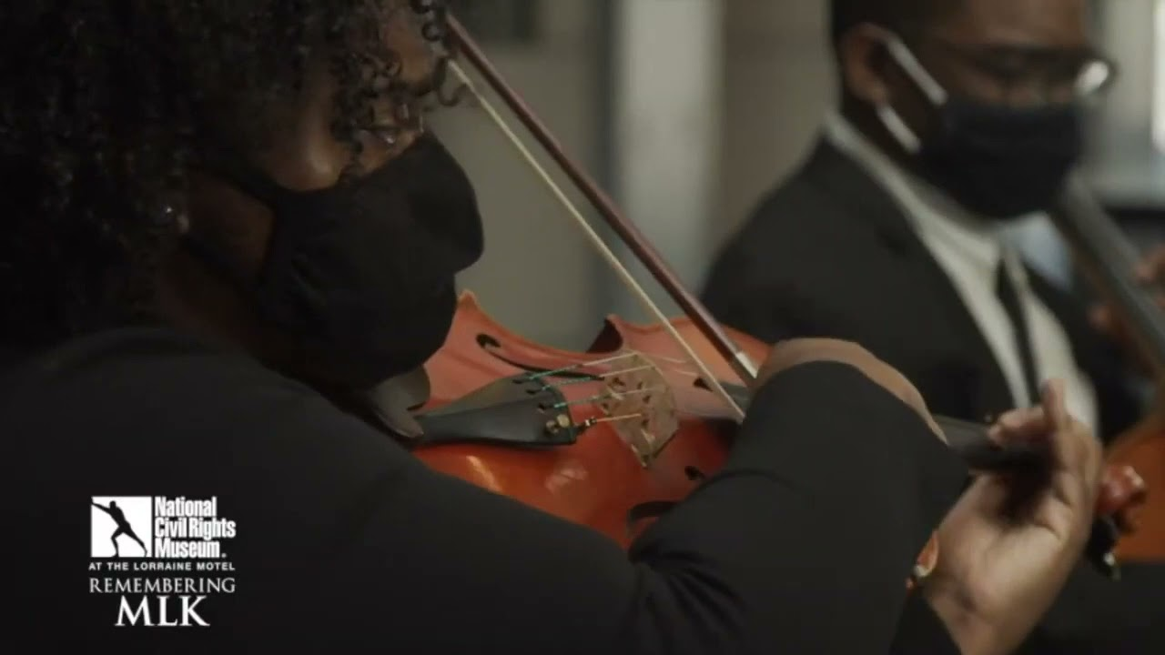 """""""Caged"""" by Brian Raphael Nabors, Memphis Symphony + Iris Orchestra Fellows"""