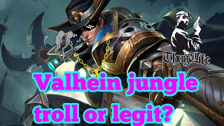 Valhelin jungle - trolling around - arena of valor gamplay
