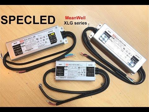 Новая серия светодиодных драйверов Mean Well XLG. Обзор Xlg-200, КПД
