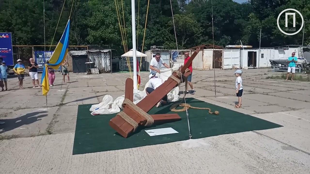 В Черноморском яхт-клубе открыли новый арт-объект