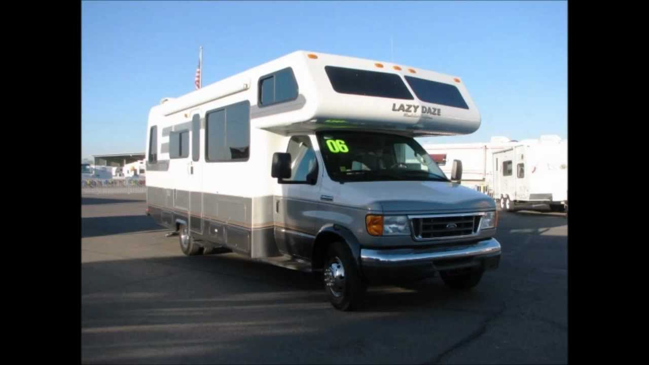 2006 Lazy Daze Motorhome Sales Arizona Rv Specialists Customer