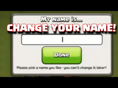 Clash Of Clans Name Change Update | Change Village Name Update Discussion + 100K Subs Announcement