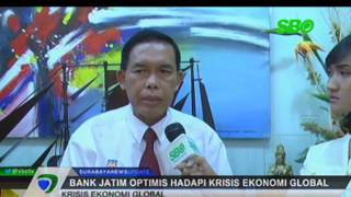 Bank Jatim Optimis Hadapi Krisis Ekonomi Global