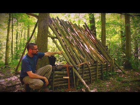Bushcraft Shelter Update