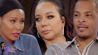 "TI's CONTROLLING Ways REVEALED By His WIFE Tiny On Red Table Talk ""He's Used To Controlling Things"""