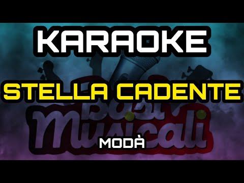 Modà - Stella Cadente - Karaoke
