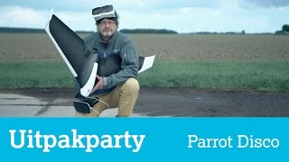 Uitpakparty: Parrot Disco, drone met vleugels