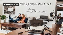 Marcus and Kristin Home Office Sweepstakes | Ashley Furniture HomeStore