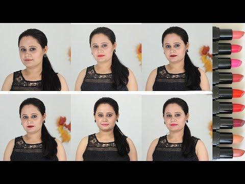 e.l.f. Day To Night Lipstick Duo Swatches | e.l.f. Moisturizing Lipsticks Swatches