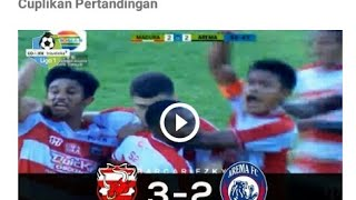 Download Video Cuplikan gol Madura United VS Arema Fc (3-2) Gojek traveloka liga 1 pekan 5 2018 MP3 3GP MP4