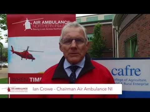 DAERA Charity Cycle 2016 - Ian Crowe, Chairman of Air Ambulance NI