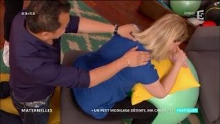 Apprendre à masser sa conjointe enceinte - La Maison des Maternelles