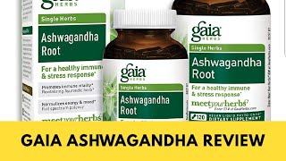 Gaia Herbs Ashwagandha Root Review | The very BEST Natural Stress and Anxiety Supplement