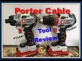 Porter Cable PCCK619L2 Drill/Driver Impact-Driver Tool Review