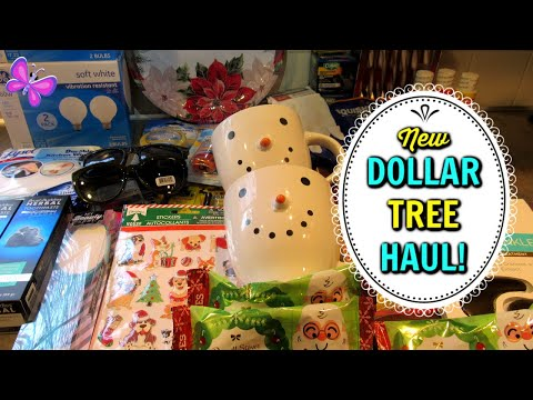 Fun DOLLAR TREE HAUL!  Awesome Finds! November 15, 2019 | LeighsHome