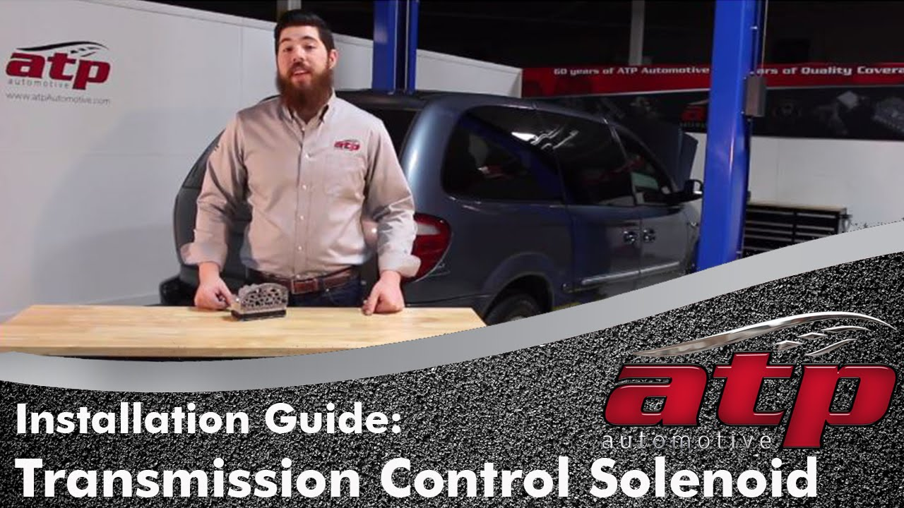 hight resolution of dodge chrysler a604 41te transmission control solenoid installation youtube